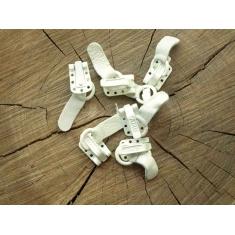 Шубные крючки белые арт. 050