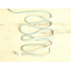 Паетки на тесьме, голубой арт. 6071