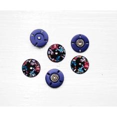 Кнопки MS K-66/D-Flower/23mm, ITA