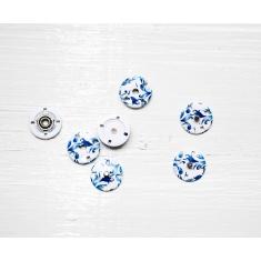 Кнопки MS K-66/B-Blue/18mm, ITA