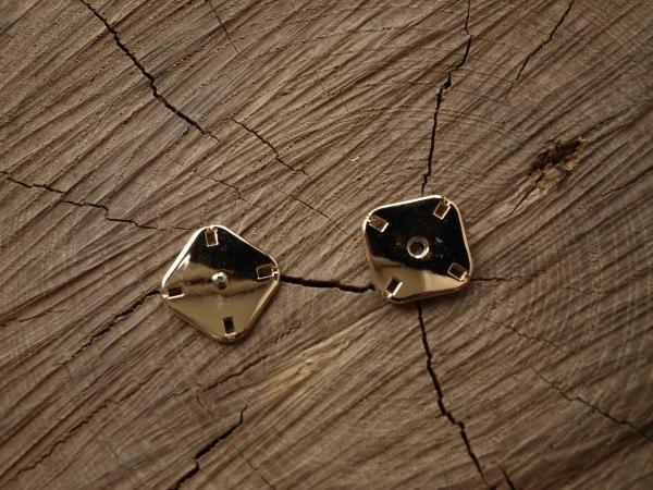Кнопка пришивная арт.  MSK - 46/Gold/22 mm